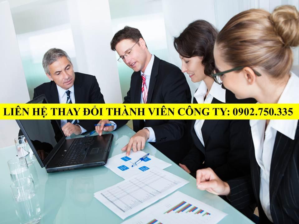 Thay doi thanh vien cong ty TNHH tai Quang Nam Da Nang
