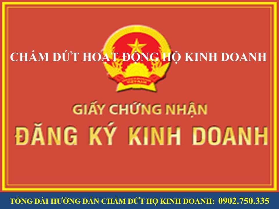 huong dan thu tuc cham dut ho kinh doanh tai quang nam Da Nang