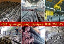 Dich vu xin giay phep kinh doanh vat lieu xay dung tai Quang Nam Da Nang